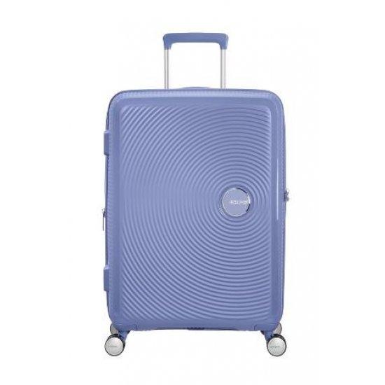 Soundbox Spinner (4 wheels) 67cm Exp Denim Blue