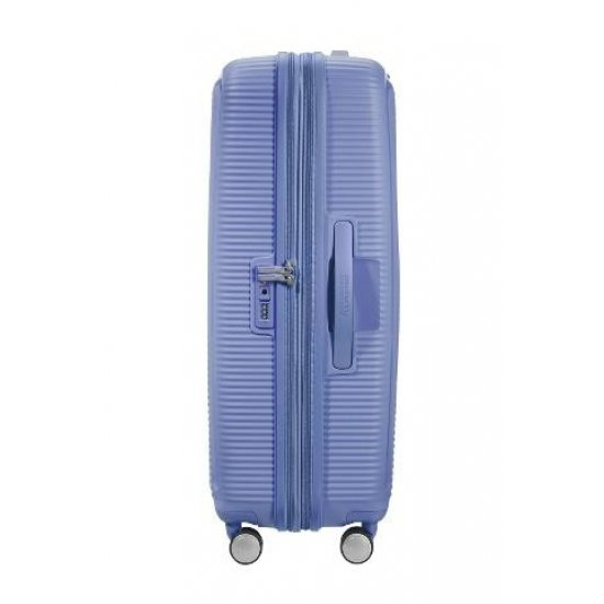 Soundbox Spinner (4 wheels) 77cm Exp Denim Blue