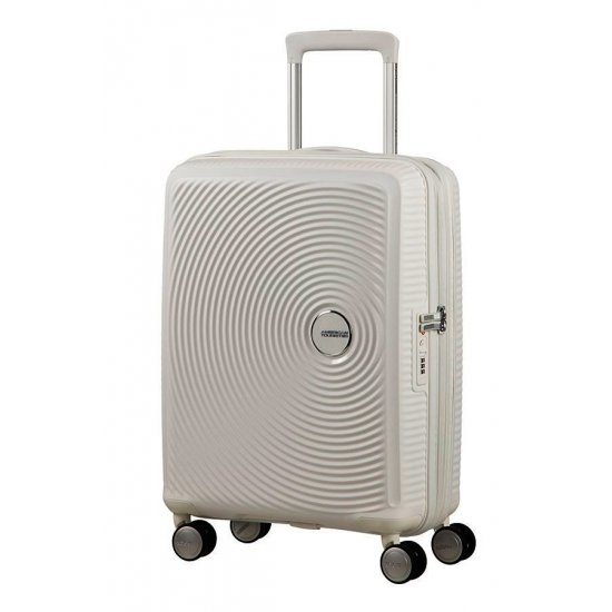 Soundbox Spinner (4 wheels) 55cm Exp Pure White