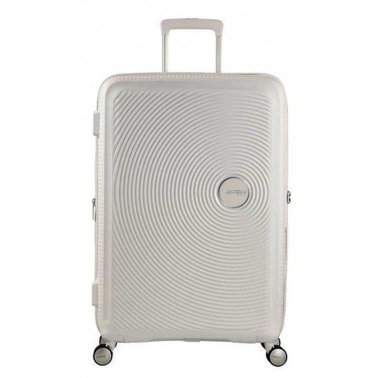 Soundbox Spinner (4 wheels) 67cm Exp Pure White