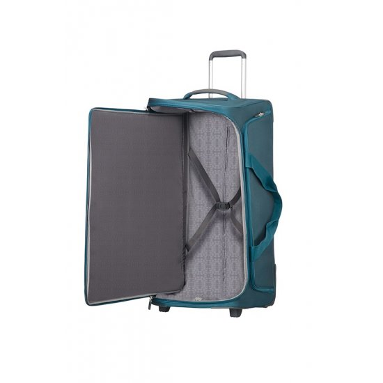 Spark SNG Duffle with Wheels 77cm Petrol Blue