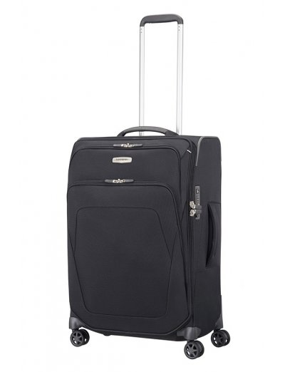 Spark SNG Spinner 82cm Expandable Black - Large suitcases