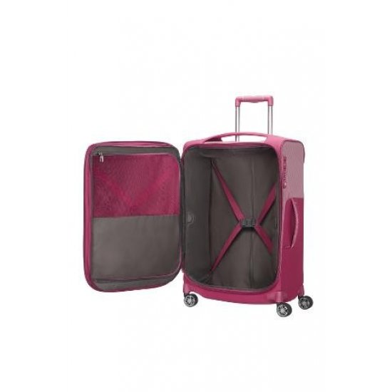B-Lite Icon Spinner (4 wheels) 63cm Exapandable Ruby Red