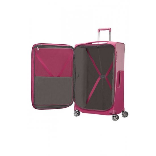 B-Lite Icon Spinner (4 wheels) 78cm Exapandable Ruby Red