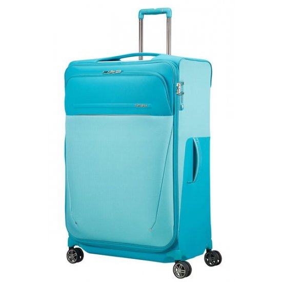 B-Lite Icon Spinner (4 wheels) 83cm Exapandable Capri Blue