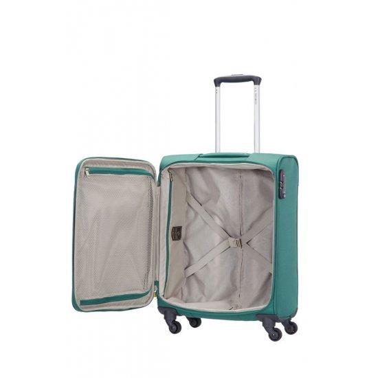 Спинер на 4 колела All Direxions 55 см, ръчен багаж в зелен цвят