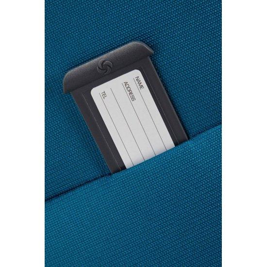 Спинер на 4 колела Base Hits 55 см в небесно син цвят, размер ръчен багаж