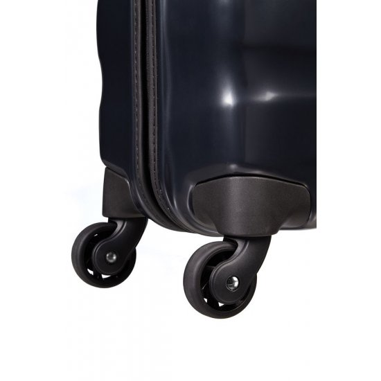 Spinner on 4 wheels Еngenero 55 cm. Dark, metallic