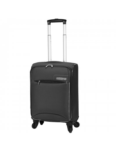Black Spinner on 4 wheels, Marbella 55 см. American Tourister - Product Comparison