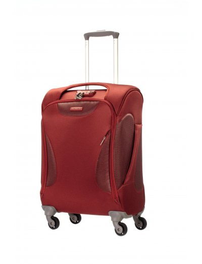 Spinner on 4 wheels Panayio 55 cm. red color - Outlet section