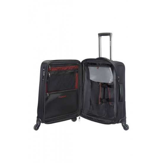 Pro-DLX 4 Spinner Expandable 56cm Black
