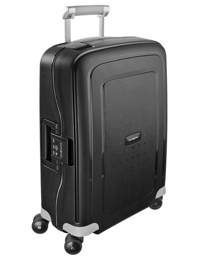 S'Cure Spinner 4 wheels 55 cm cabin luggage black - S'Cure