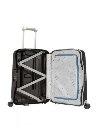 S'Cure Spinner 4 wheels 55 cm cabin luggage black - Product Comparison