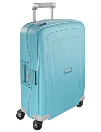 S'Cure Spinner 4 wheels 55 cm cabin luggage sea blue - Hand luggage/cabin