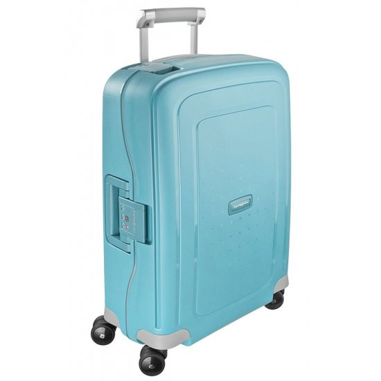 S'Cure Spinner 4 wheels 55 cm cabin luggage sea blue