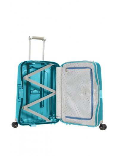 S'Cure Spinner 4 wheels 55 cm cabin luggage sea blue - S'Cure