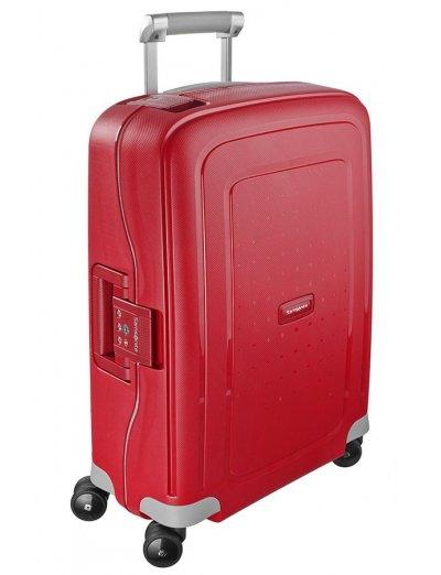 S'Cure Spinner 4 wheels 55 cm cabin luggage purple - S'Cure