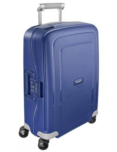 S'Cure Spinner 4 wheels 55 cm cabin luggage dark blue - S'Cure