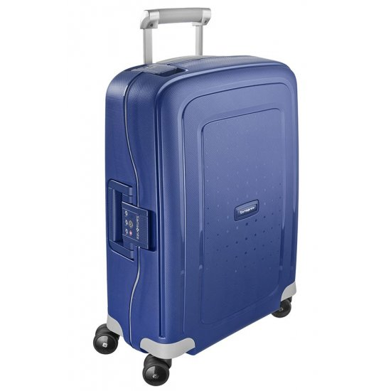S'Cure Spinner 4 wheels 55 cm cabin luggage dark blue