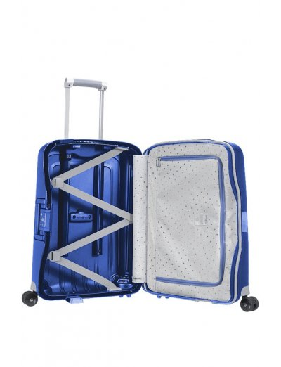 S'Cure Spinner 4 wheels 55 cm cabin luggage dark blue - Product Comparison