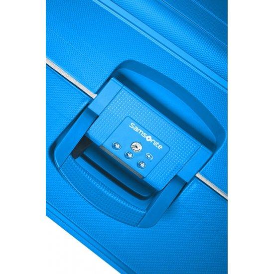 S'Cure Spinner 4 wheels 69 cm medium size blue