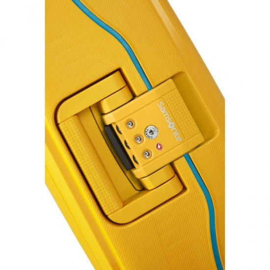 Спинер на 4 колела S'Cure 69 см жълт цвят