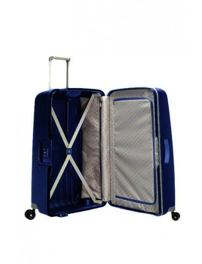 S'Cure Spinner 4 wheels 81 cm large size dark blue - Large suitcases