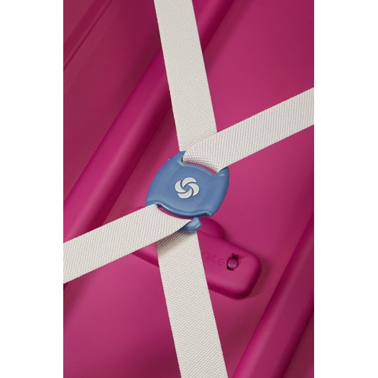 S'Cure Spinner 4 wheels 81 cm large size pink