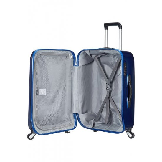 Spinner on 4 wheels Spin Trunk 55 cm. Blue