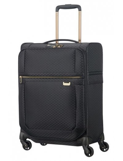 Uplite Spinner 55cm Black/Gold - Women's suitcases