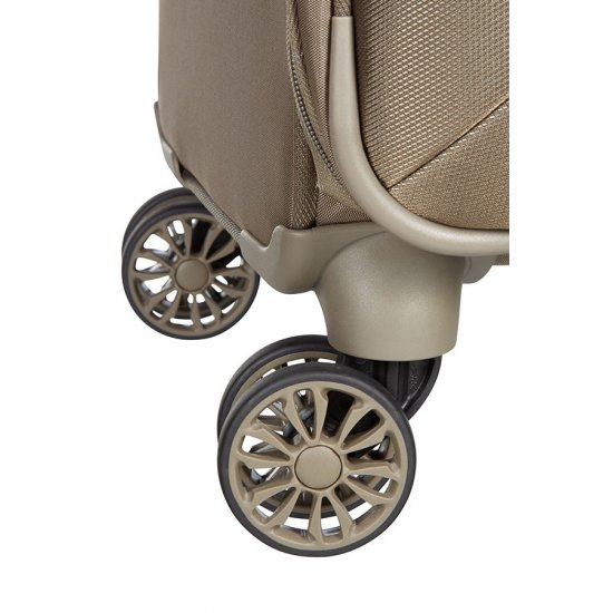 B-lite 3 Spinner on 4 wheels Expandable 63 cm. Walnut color