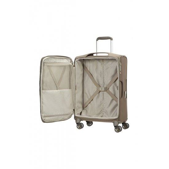 B-lite 3 Spinner on 4 wheels Expandable 71 cm. Walnut color