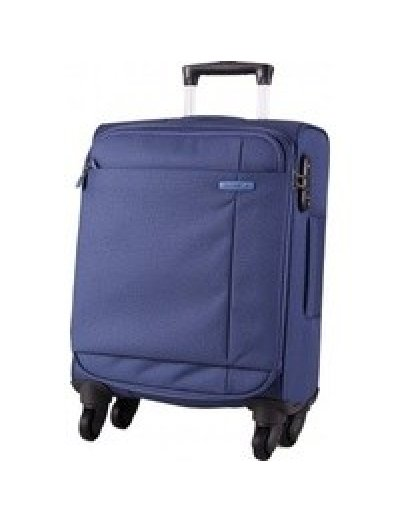 Spinner on 4 wheels S-Cape 53 cm. Blue - Outlet section
