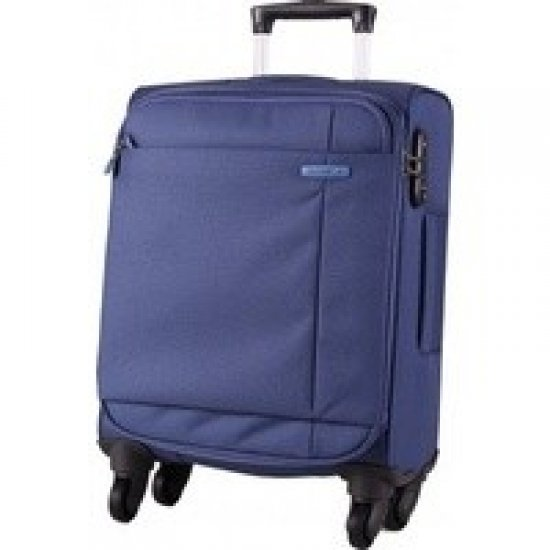 Spinner on 4 wheels S-Cape 53 cm. Blue