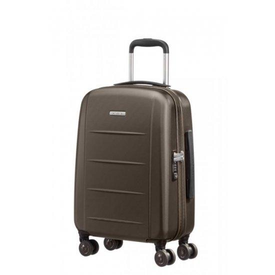 Спинер за ръчен багаж на 4 колела XYLEM PC 55см в бронзов цвят