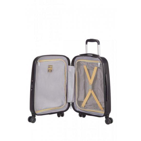 Спинер за ръчен багаж на 4 колела XYLEM PC 55см в цвят графит