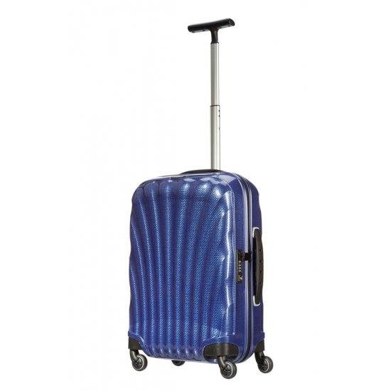 Спинер за ръчен багаж на 4 колела LITE-LOCKED 55 см, тъмно син цвят