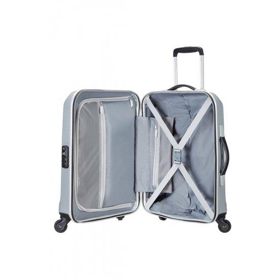 Спринер на 4 колела SKYDRO 55 см, ръчен багаж в  сребрист цвят