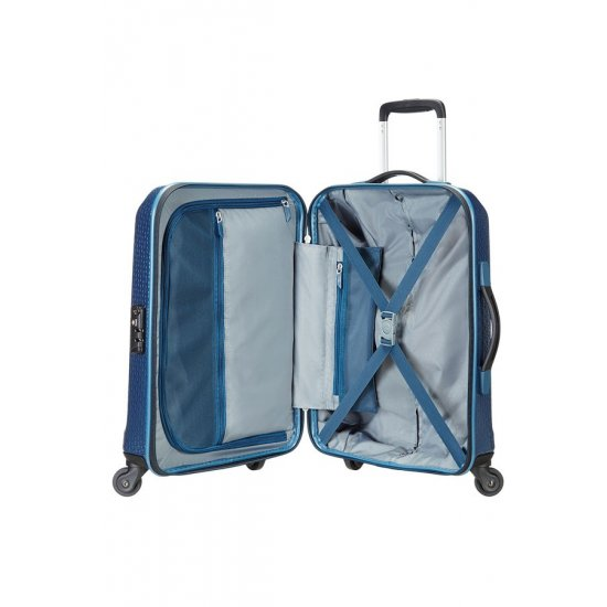 Spinner on 4 wheels SKYDRO 55cm Cabin luggage Dark Blue