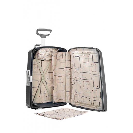 Сребрист куфар на 2 колела Aeris Comfort 71cm