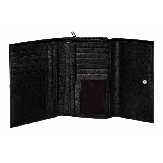 Stylish ladie's wallet made out of full leather brown color