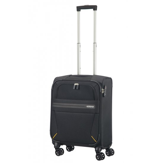 Summer Voyag 4-wheel suitcase 55 cm Black