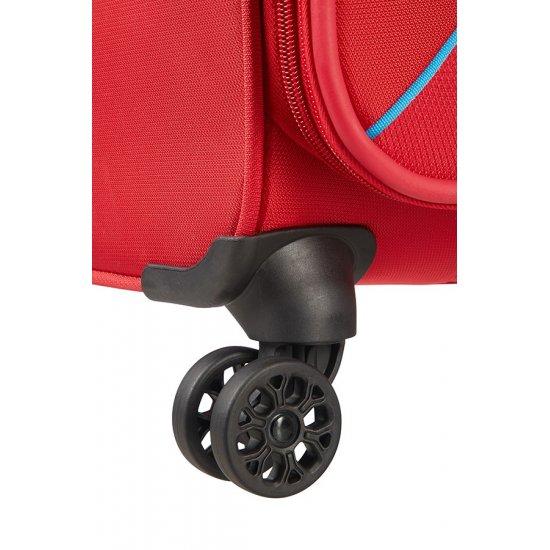 Summer Voyag 4-wheel suitcase 56 cm Red