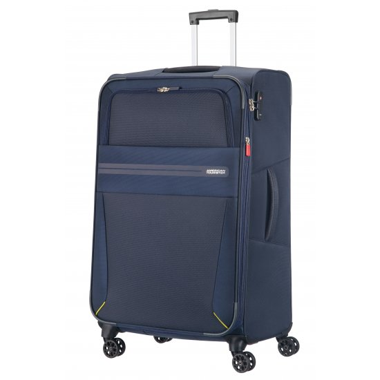 Summer Voyag 4-wheel suitcase 68 cm Navy Blue Expandable