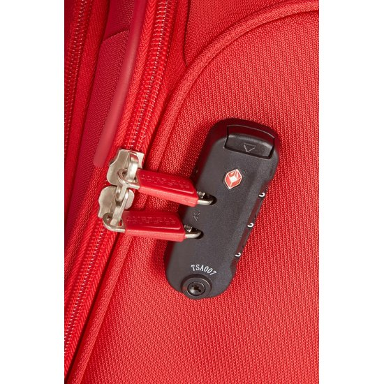 Summer Voyag 4-wheel suitcase 68 cm Red Expandable