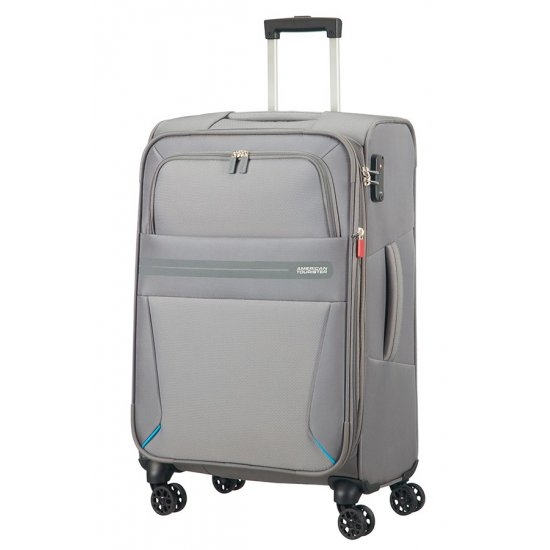 Summer Voyag 4-wheel suitcase 68 cm Grey Expandable