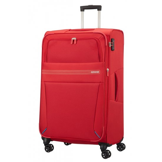 Summer Voyag 4-wheel suitcase 79 cm Red Expandable