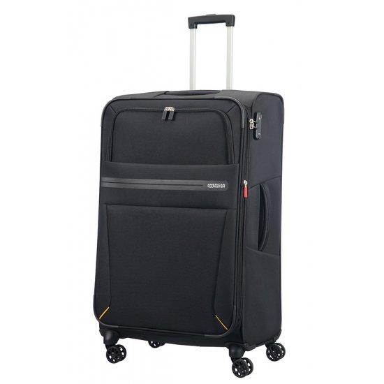 Summer Voyag 4-wheel suitcase 79 cm Black Expandable