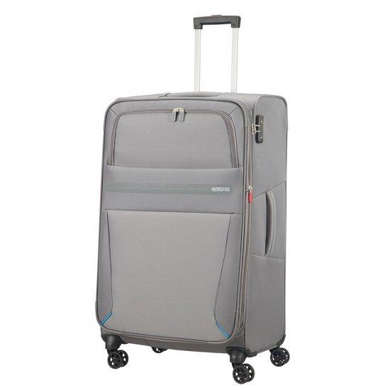 Summer Voyag 4-wheel suitcase 79 cm Grey Expandable