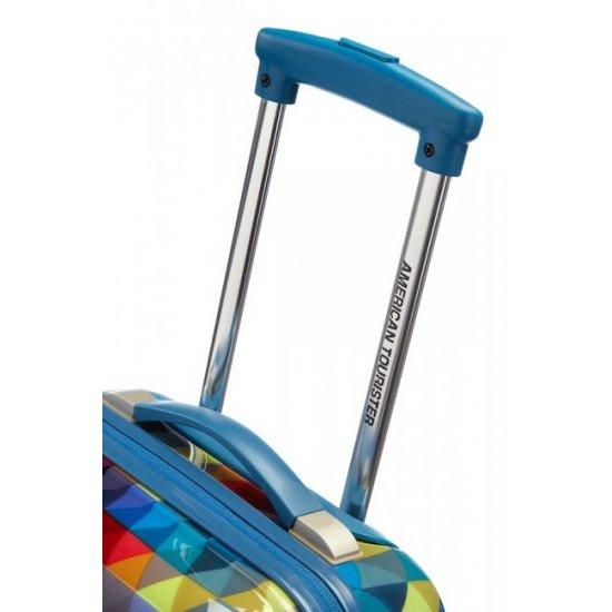 Surf Спинер на 4 колела American Tourister Jazz 55 см- размер за ръчен багаж, разноцветeн